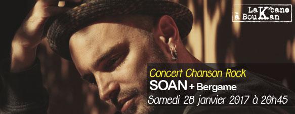 12/ Soan (acoustique) + Bergame
