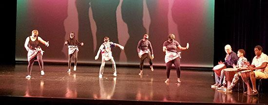 Percussions et danses africaines