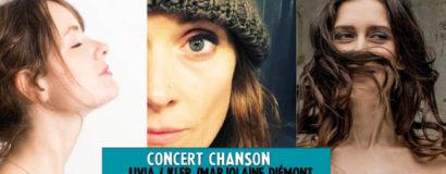 19/ «Au féminin» Kler + Marjolaine Piémont + Livia
